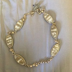 Chico's gold neckless. Brand new! Never worn